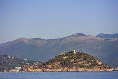 Isola di Gallinara Fotografie Stock Libere da Diritti