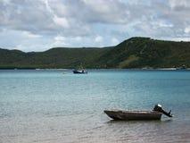 Isola di giovedì, stretto di Torres fotografia stock libera da diritti
