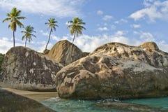 Isola di Gorda del Virgin   Immagine Stock