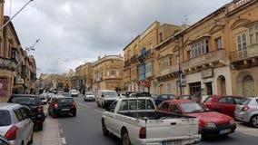Isola di Gozo della città di Victoria Fotografie Stock Libere da Diritti
