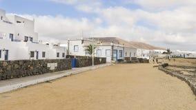 Isola di Graciosa, Spagna, vista urbana. Fotografia Stock