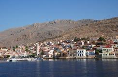 Isola di Halki, Grecia fotografia stock libera da diritti