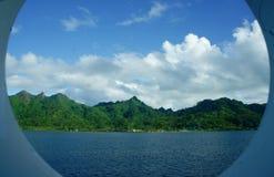 Isola di Hauhine Fotografia Stock Libera da Diritti