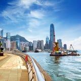 Isola di Hong Kong Fotografie Stock Libere da Diritti