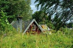 Isola di Hovedoya vicino ad Oslo, Norvegia Fotografia Stock Libera da Diritti