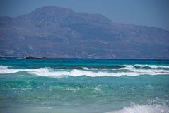 Isola di Hrissi Fotografia Stock