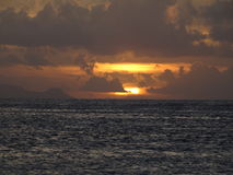 Isola di Huahine Immagini Stock