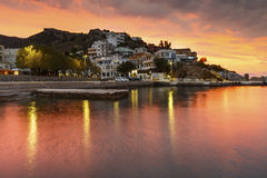 Isola di Ikaria fotografia stock
