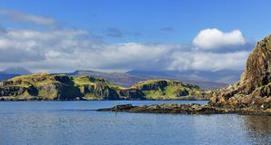 Isola di Insh Fotografia Stock