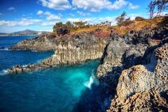Isola di Jeju fotografia stock libera da diritti