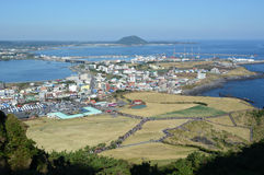 Isola di Jeju Immagini Stock Libere da Diritti