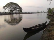 Isola di Kadamakudi Fotografie Stock