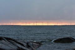Isola di Kallo in Pori, Finlandia fotografia stock