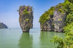 Isola di Kao Phing Kan Fotografia Stock