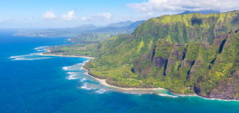 Isola di Kauai Fotografia Stock