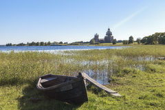 Isola di Kizhi in Russia Fotografia Stock