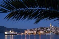 Isola di Korcula - del Croatia Immagine Stock Libera da Diritti