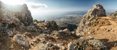 Isola di Kos, panorama Fotografie Stock Libere da Diritti