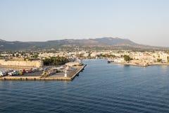 Isola di Kos, porto Fotografie Stock