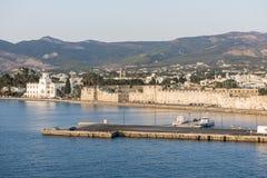 Isola di Kos, porto Immagini Stock Libere da Diritti