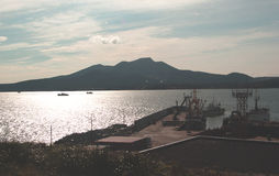 Isola di Kunashir Immagini Stock