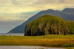 Isola di Kunashir Immagine Stock Libera da Diritti