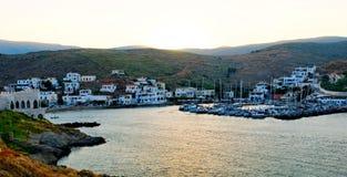 Isola di Kythnos in Grecia fotografia stock libera da diritti