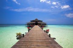 Isola di Lankayan fotografia stock libera da diritti