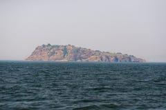 Isola di legno del bastone immagine stock
