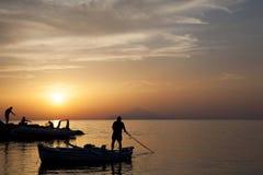 Isola di Lemnos della Grecia del Nord Immagine Stock Libera da Diritti
