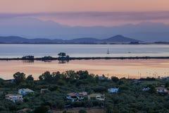 Isola di Leucade, Grecia Fotografia Stock Libera da Diritti