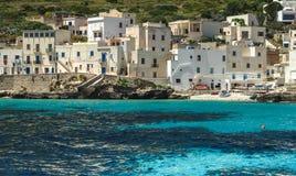 Isola Di Levanzo Zdjęcia Royalty Free