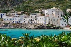 Isola di Levanzo. The bay at Levanzo Island, Sicily, Italy Stock Image