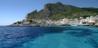 Isola di Levanzo Royalty Free Stock Photo