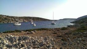 Isola di Levitha Fotografie Stock