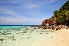 Isola di Lipe del KOH fotografia stock libera da diritti