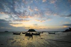 Isola di Lipe, Koh Lipe, provincia di Satun Tailandia Immagini Stock Libere da Diritti
