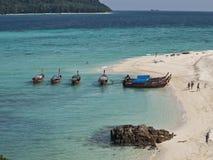 Isola di Lipe, Tailandia Fotografia Stock Libera da Diritti