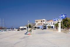 Isola di Lipsi, Grecia fotografia stock