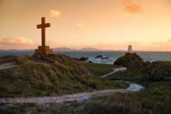 Isola di Llanddwyn Immagini Stock
