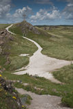 Isola di Llanddwyn, Anglesey, Gwynedd, Galles del nord, Regno Unito Immagini Stock Libere da Diritti