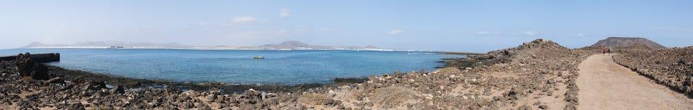 Isola di Lobos, Fuerteventura, Isole Canarie, Spagna Fotografia Stock