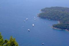 Isola di Lokrum Immagine Stock