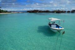 Isola di Mabul Fotografie Stock