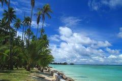 Isola di Mabul Fotografie Stock Libere da Diritti