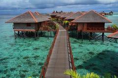Isola di Mabul fotografia stock libera da diritti
