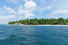 Isola di Malapascua, Filippine fotografie stock libere da diritti