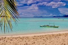 Isola di Malcapuya Fotografie Stock Libere da Diritti