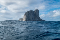 Isola di Malpelo Colombia Fotografia Stock Libera da Diritti