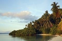 Isola di Mansuar Fotografie Stock